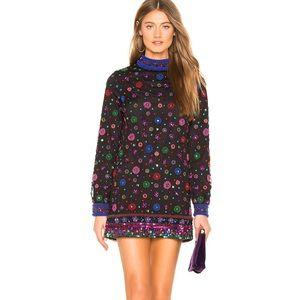 NEW NWT Tularosa Adams Dress Embellished XS